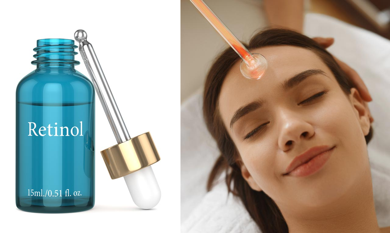 High Frequency And Retinol