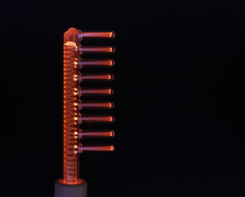 high frequency hair comb
